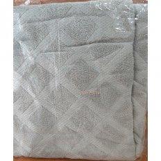 Простыня махровая Бравотекс холодный серый (хлопок)