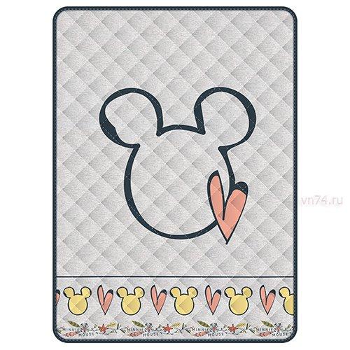 Детское покрывало Disney Minnie gray (хлопок)