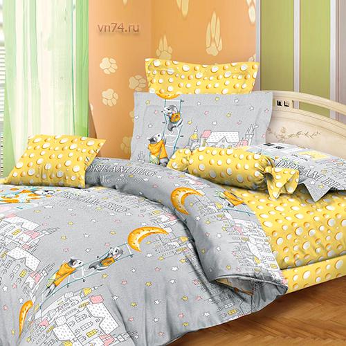 Детское постельное белье Эльфина Охотники за сыром (бязь-люкс)