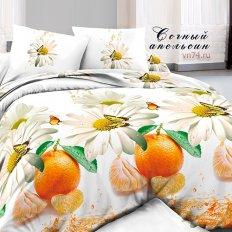 Постельное белье Dolce Vita Premium Сочный апельсин (поплин)