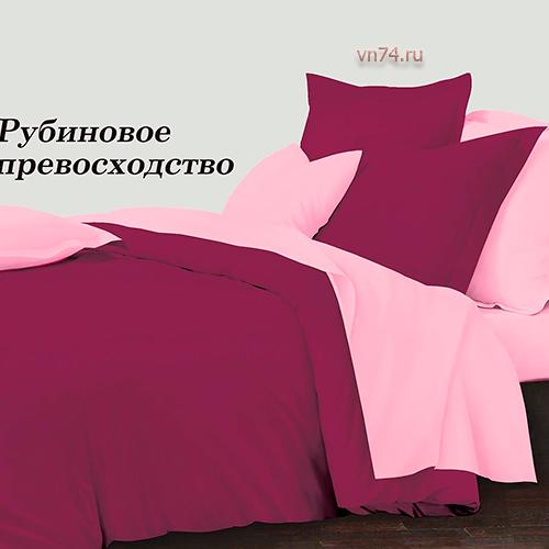 Постельное белье Колорит Рубиновое превосходство (микросатин)