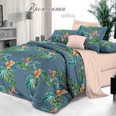 Постельное белье Bella Vita Premium Тропиканка (поплин)