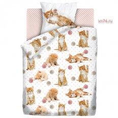 Детское постельное белье For You Fun&Cute Cute kittens (поплин)