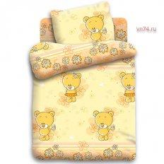 Детское постельное белье Кошки-мышки Мишутки (бязь-люкс)