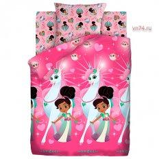 Детское постельное белье Нелла отважная принцесса Нелла принцесса (поплин)