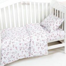 Детское постельное белье с резинкой на простыне Арт-постель Друзья (трикотаж)