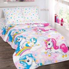 Детское постельное белье Арт-постель Карусельки (поплин)