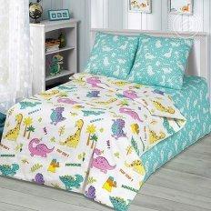 Детское постельное белье Арт-постель Динопарк (бязь-люкс)