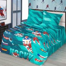 Детское постельное белье Арт-постель Хоккей (бязь-люкс)
