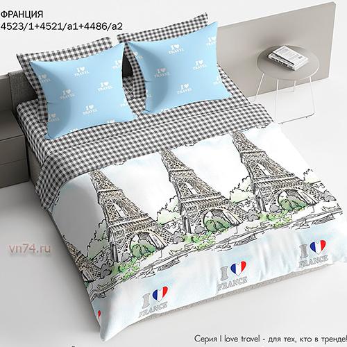 Постельное белье Bravo Франция (поплин)