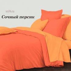 Постельное белье Колорит Сочный персик (микросатин)