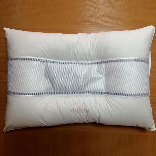 Подушка Здоровый сон эколайф с терапевтическими камнями D-04 (сатин)