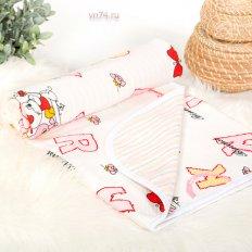 Детское одеяло-покрывало Арт-постель Буквы (трикотаж)