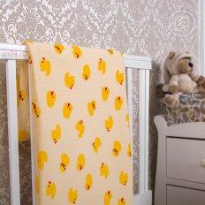 Детское одеяло-покрывало Арт-постель Утенок (трикотаж)
