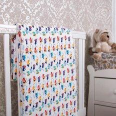 Детское одеяло-покрывало Арт-постель Забавные машинки (трикотаж)