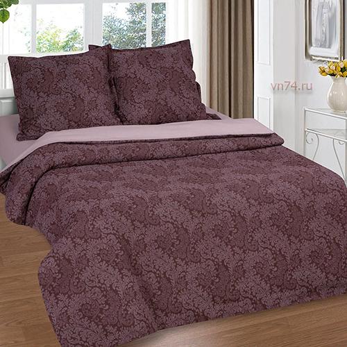 Постельное белье Арт-постель Вирджиния шоколад (поплин)
