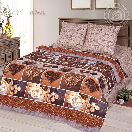 Постельное белье Арт-постель Кофемания (бязь-люкс)