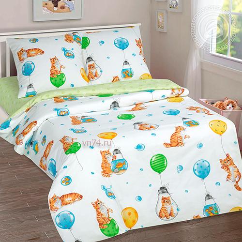 Детское постельное белье Арт-постель Барсик (поплин)