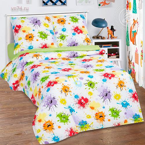 Детское постельное белье Арт-постель Промокашка (поплин)