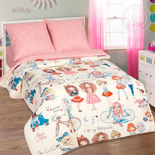 Детское постельное белье Арт-постель Стиляги (поплин)