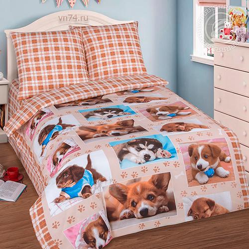 Детское постельное белье Арт-постель Тотошка (поплин)
