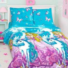 Детское постельное белье Арт-постель Зазеркалье (поплин)
