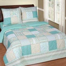 Постельное белье с простыней на резинке Арт-постель Мелисса (поплин)