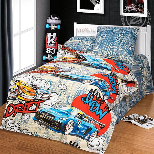 Детское постельное белье Арт-постель Дрифт (бязь-люкс)