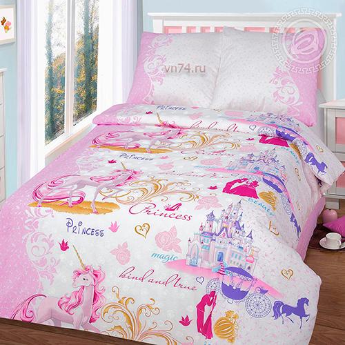 Детское постельное белье Арт-постель Королевство (бязь-люкс)