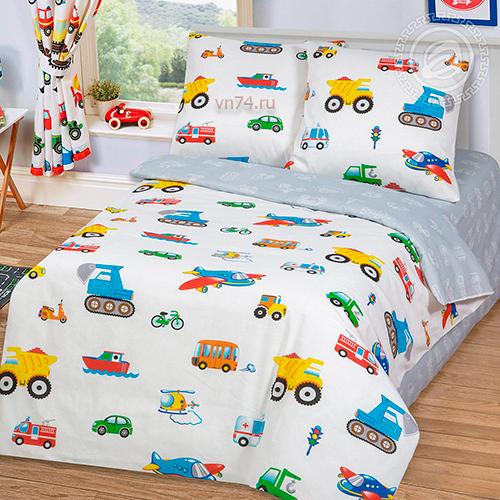 Детское постельное белье Арт-постель Моторчик (бязь-люкс)