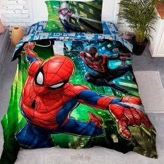 Детское постельное белье Человек Паук Spiders (поплин)