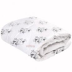 Одеяло овечья шерсть мериноса Магия сна Бычки классическое