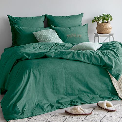 Постельное белье Absolut Emerald (сатин-диагональ)