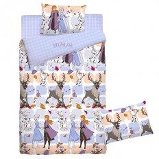 Детское постельное белье Холодное сердце Frozen family (бязь-гост)
