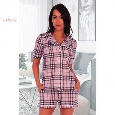 Пижама женская кулирка 2611 лаванда
