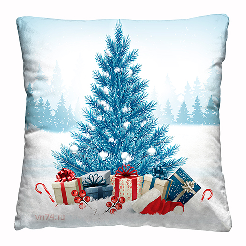 Подушка декоративная 40 x 40 Морозное утро