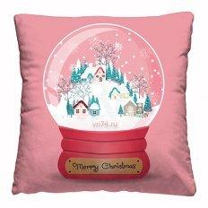 Подушка декоративная 40 x 40 Снежный шар