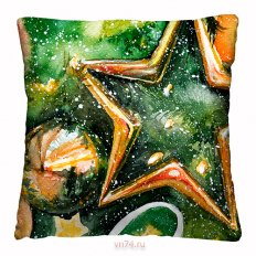 Подушка декоративная 40 x 40 Звезда