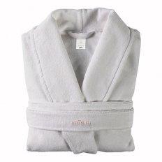 Халат махровый Home&Style холодный серый (хлопок)