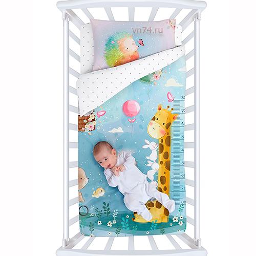 Детское постельное белье Облачко Holiday (бязь-люкс)
