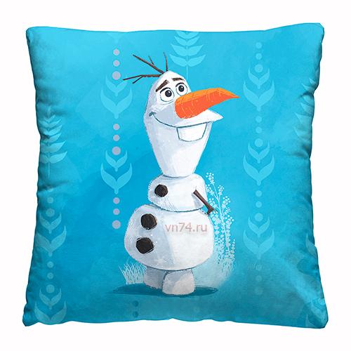 Подушка декоративная 40 x 40 Холодное сердце Olaf