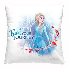 Подушка декоративная 40 x 40 Холодное сердце Jorney