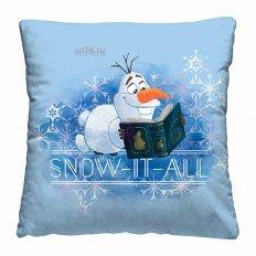 Подушка декоративная 40 x 40 Холодное сердце Olaf snow