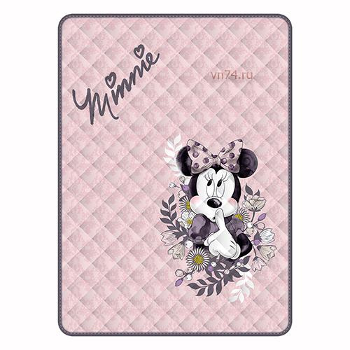 Детское покрывало Disney Pink Minnie (хлопок)