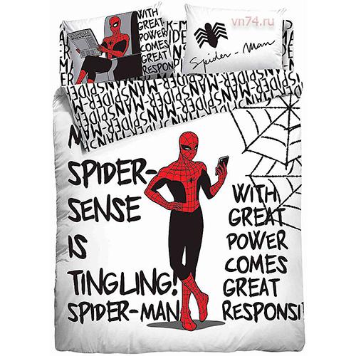 Детское постельное белье Marvel Spider tingling (поплин)