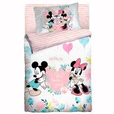 Детское постельное белье Облачко Mickey & Minnie (бязь-люкс)