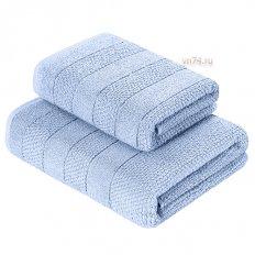 Набор махровых полотенец Verossa Milano Пудрово-голубой (2 предмета)