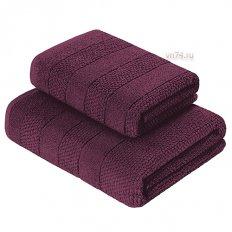 Набор махровых полотенец Verossa Milano Темно-Бордовый (2 предмета)