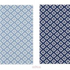 Набор вафельных полотенец Солнечный дом 35x70 Перекресток (2 предмета)