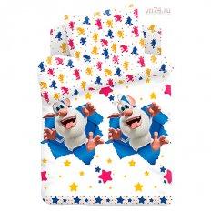 Детское постельное белье Буба Проказник Буба (поплин)